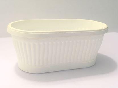 """תמונה של אדנית פלסטיק 21 ס""""מ."""