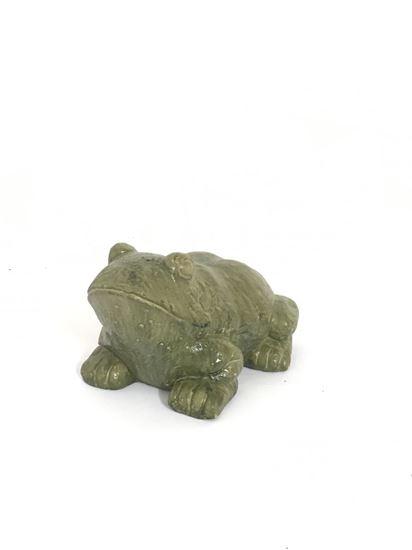 """תמונה של פסל צפרדע 23X11 ס""""מ"""