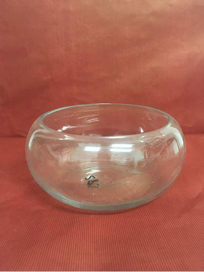 """תמונה של קערת זכוכית 16X10 ס""""מ."""