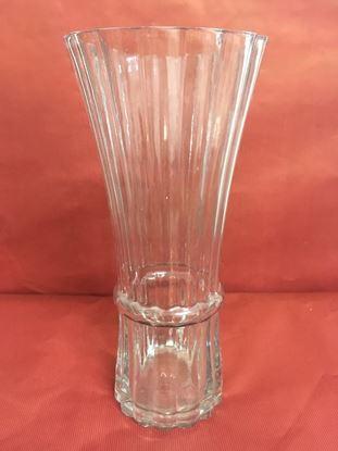 """תמונה של אגרטל זכוכית 15X30 ס""""מ."""