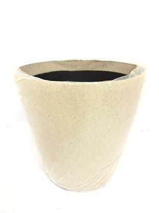 """תמונה של עציץ פייבר 50×50 ס""""מ."""