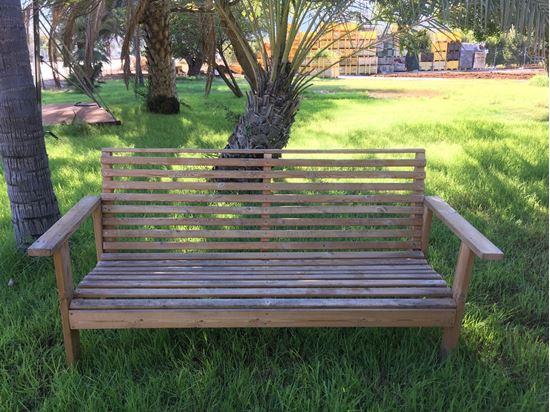 """תמונה של ספסל לגינה אורך 190 ס""""מ."""