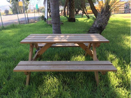 """תמונה של שולחן קק""""ל 1.50X140 ס""""מ"""